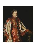 Portrait of Elizabeth of Valois  Queen of Spain