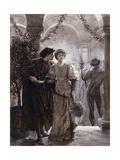 Scenes from Romeo and Juliet: The Ball Scene (I, V) Giclée par Frank Bernard Dicksee