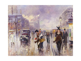 Parisien Street Scene