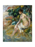 Nude in a Forest