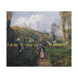 Peasant and Child Returning from the Fields  Pontoise