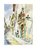 A Street Scene  Toledo