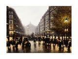 A Street Scene  Paris