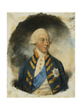 Portrait of King George III  wearing Windsor Uniform and Ribbon and Star of the Garter