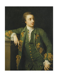 Portrait of Thomas Fortescue  MP  wearing a Green Coat and Waistcoat Holding a Tricorn Hat