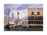 The Piazzetta di San Marco  Venice