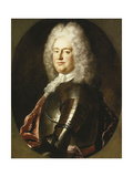 Portrait of a Gentleman  in Armour  a White Jabot and Crimson Wrap