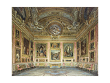 Interiors of the Palazzo Pitti  Florence