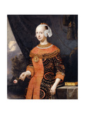 Portrait of a Lady  identified as Anne  Marquise de Basville