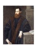 Portrait of a Gentleman in a fur-trimmed coat