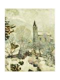 Murol Church in Winter
