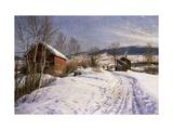 A Winter Landscape  Lillehammer