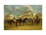 Preparing to Start for the Emperor of Russia's Cup at Ascot  1845