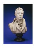 A Painted Plaster Bust of Robert Fulton (Platre Original)