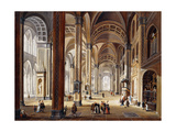 The Interior of a Renaissance Cathedral