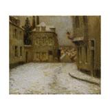 Snow  Montmartre