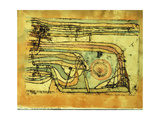 Landscaft im Pankenton Giclée par Paul Klee