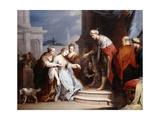 Esther before Ahasueurus