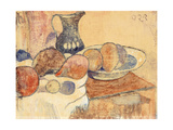 Still life with a Pitcher and Fruit