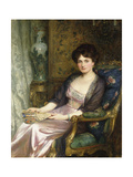 Portrait of a Lady Said to Be the Artist's Wife