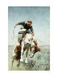 Bronco Rider Giclée par William Herbert 'Buck' Dunton