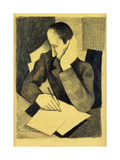 Man Writing: Study for Paludes