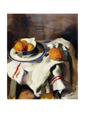 A Still Life with Oranges