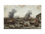 The Battle of Gibraltar  between the Dutch and Spanish Fleets  25th April 1607