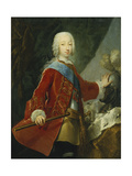 Portrait of a Gentleman  Probably the Grand Duke Peter Fedorovich  Later Czar Peter III