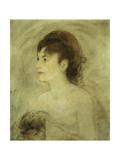 Jeune Femme Decolletee