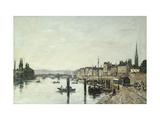 Rouen  La Seine et le Pont Corneill