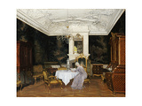 A Lady in an Interior  Fredensborg