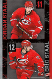 Carolina Hurricanes Staal Duo