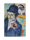 Man with a Tulip (Portrait of Jean Metzinger)