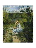 Jeanne in the Garden  Pontoise