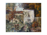 House and Orchard in the Autumn