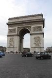 Arc de Triomphe Paris France Plastic Sign