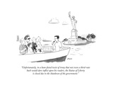 """""""Unfortunately  in a ham-fisted twist of irony that not even a third-rate…"""" - Cartoon"""