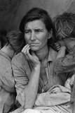 Dorothea Lange Migrant Mother Plastic Sign