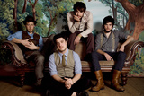 Mumford and Sons Group Music Plastic Sign