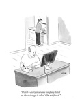 """""""Weird - every insurance company listed on the exchange is called '404 not…"""" - Cartoon"""