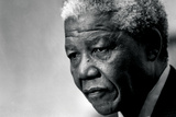 Nelson Mandela Plastic Sign