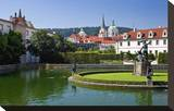 Baroque Wallenstein Garden at Wallenstein Palace at Prague Lesser Town  Czech Republic
