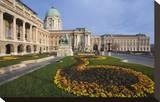 Buda castle with park  Budapest  Hungary