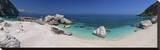 Beach at Cala Mariolu bay  Province of Nuoro  Sardinia  Italy