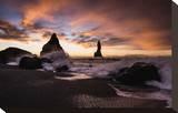 Basalt Rocks at Cape Dyrholaey near Vik i Myrdal  Myrdalur  Iceland
