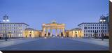 Brandenburger Tor in the evening  Berlin  Germany