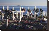 Cemetery in Melville Bay  Uummannaq  West Coast  Greenland