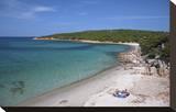 Beach of Cala Portese on Caprera Island  La Maddalena Archipelago  Sardinia  Italy