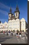 Church of Our Lady Before Tyn on Old Town Square in Prague  Central Bohemia  Czech Republic